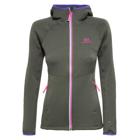 Elevenate Arpette Stretch Hood Women deep forest